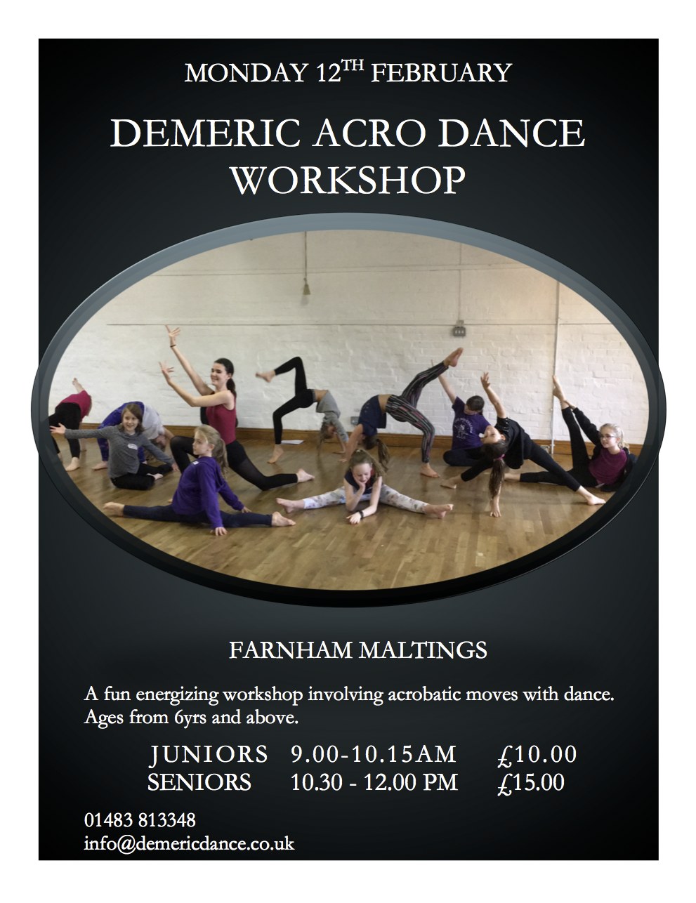 Acro Dance Workshop 12022018