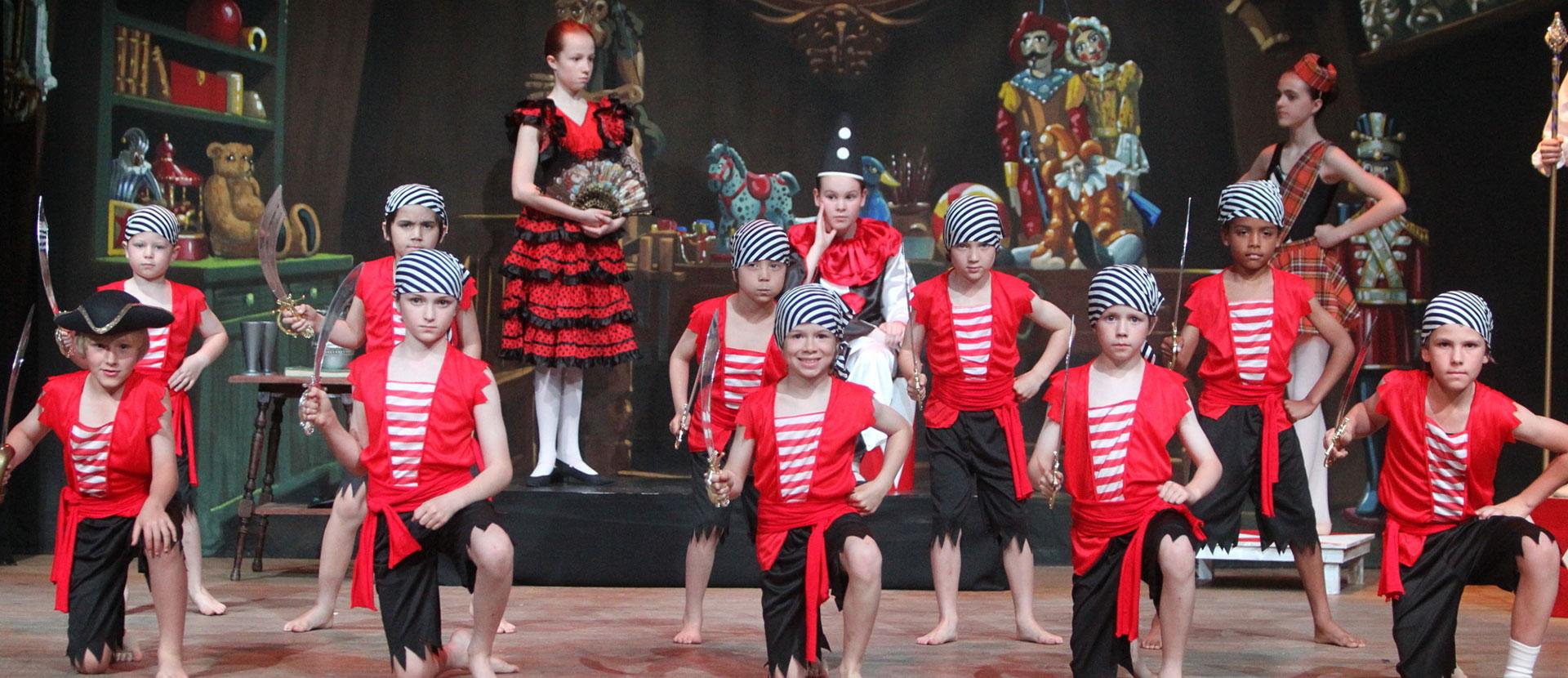 Coppelia Boys Dance Production