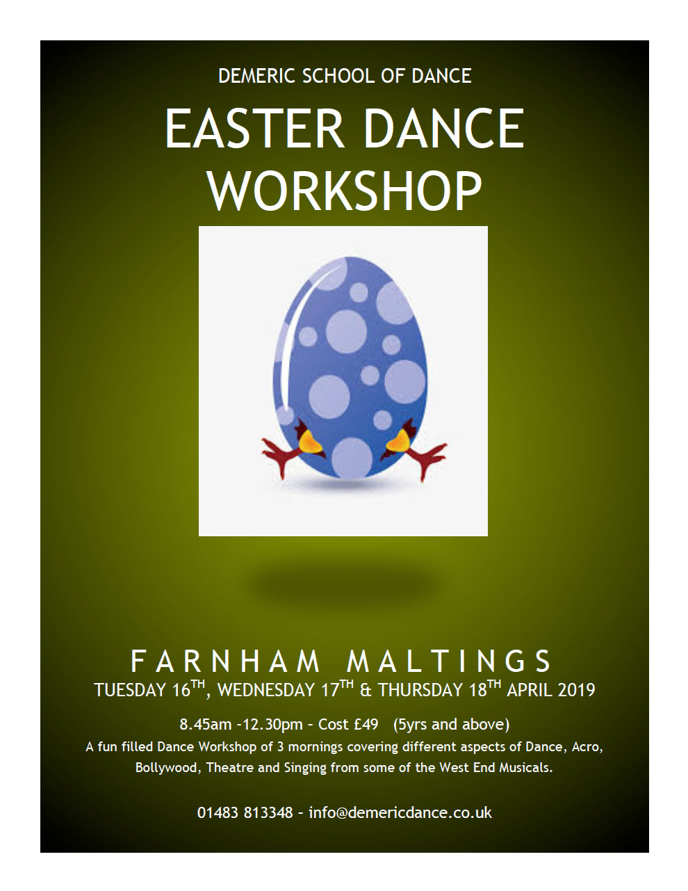 Easter-Dance-Workshop-2019-poster